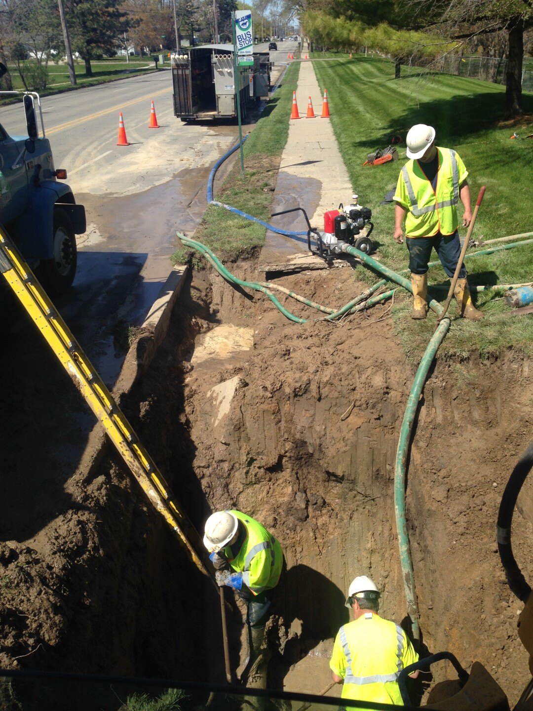 Water main issues in Delta Township