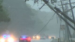 Heavy rain and wind leaves damage throughout Iberia Parish