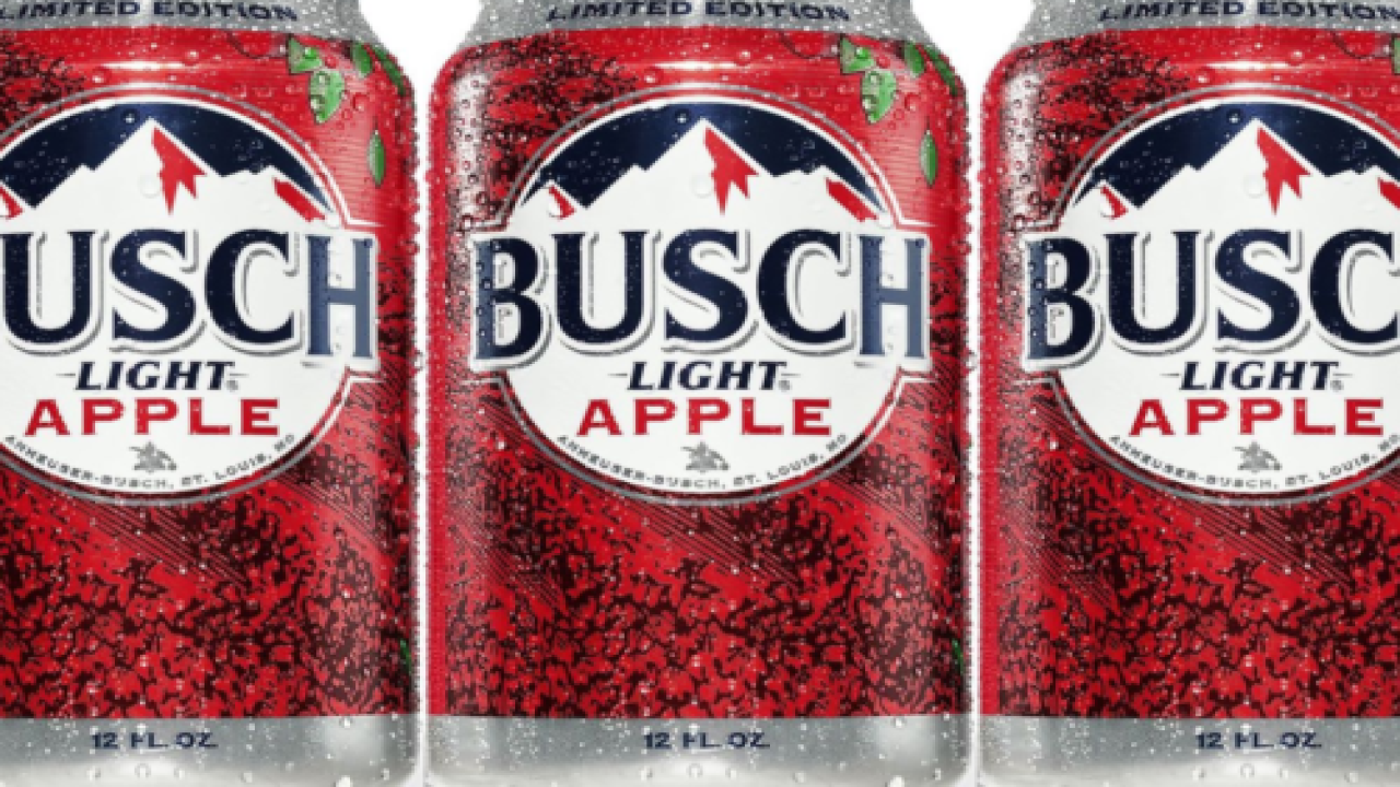 Busch Light Just Launched Its First-ever Flavored Beer