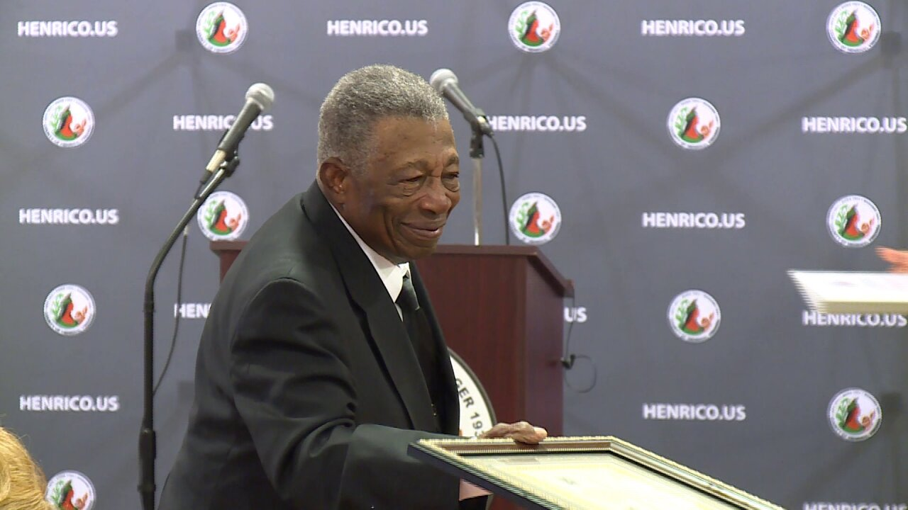 Elvin Cosby retires after 73 years of working for Henrico County