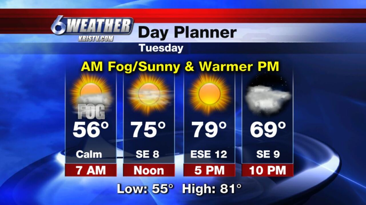 6WEATHER Day Planner for Tuesday 11-19-19.JPG