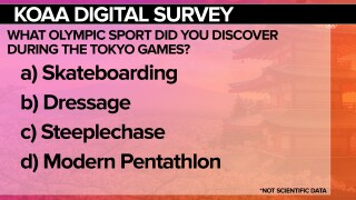 KOAA Survey: What Olympic sport did you discover during the Tokyo Games?