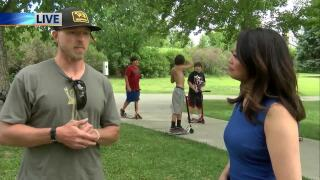 Alliance For Youth hosts BBQ at skatepark