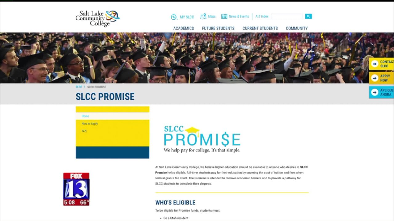 SLCC Promise: Free tuition for low-incomestudents