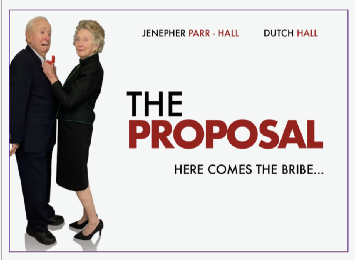 Jennie and Dutch Hall in the Proposal