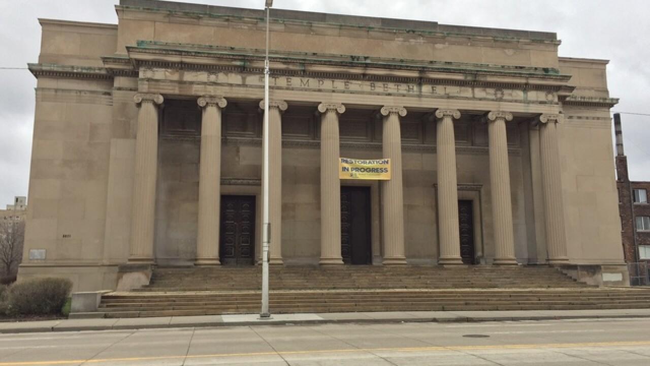 Plan developed to remake fmr Detroit synagogue