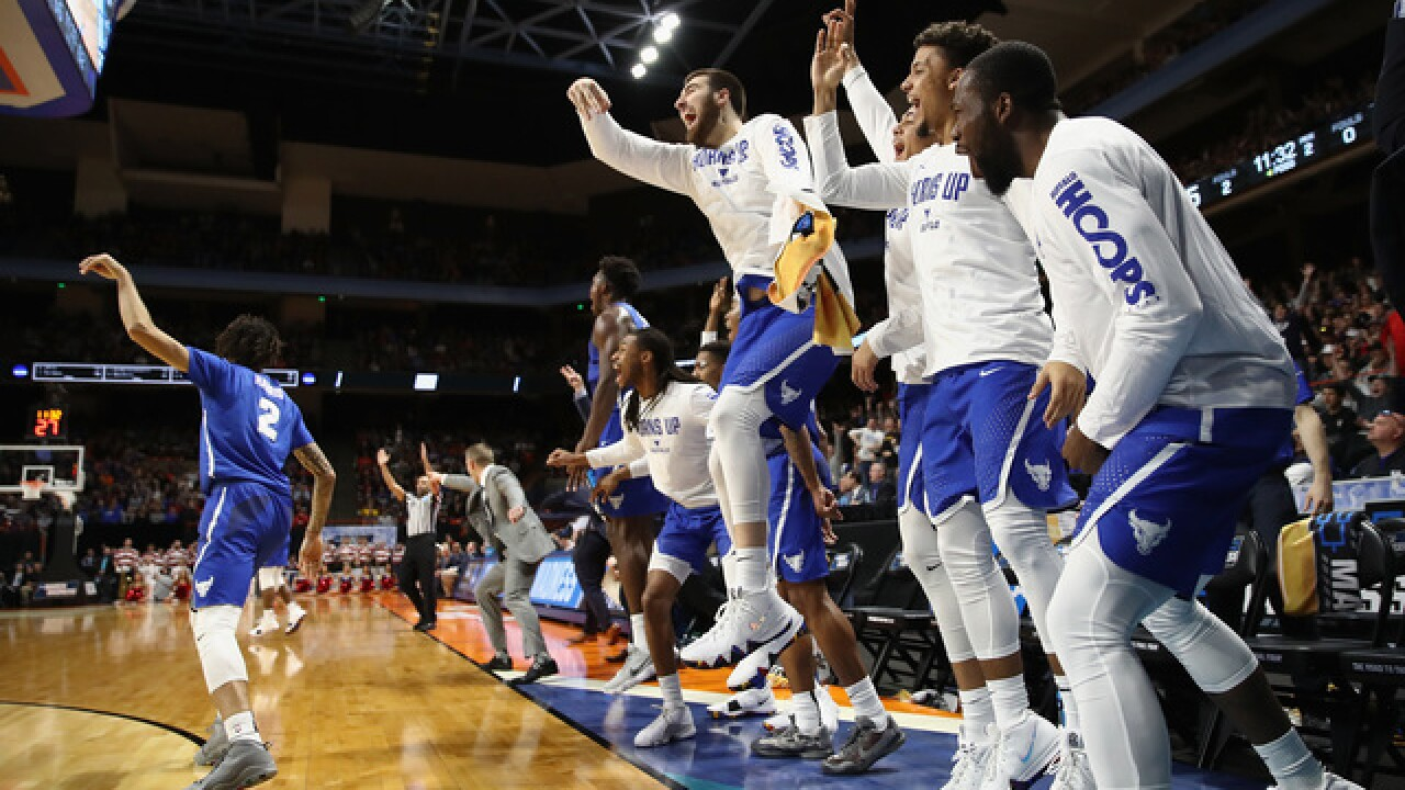 UB makes a statement in first ever NCAA Tournament win, dominates Arizona 89-68