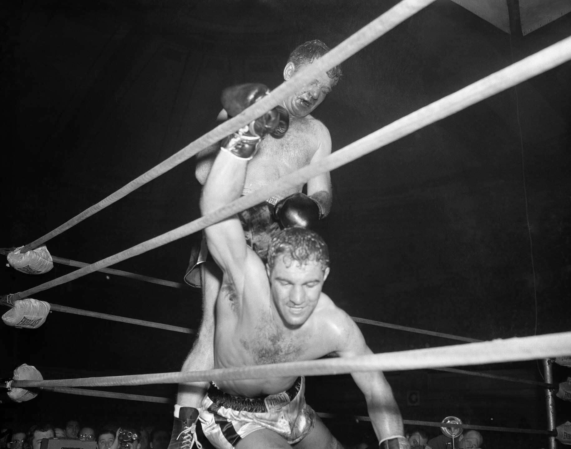 Rocky Marciano, Lee Savold