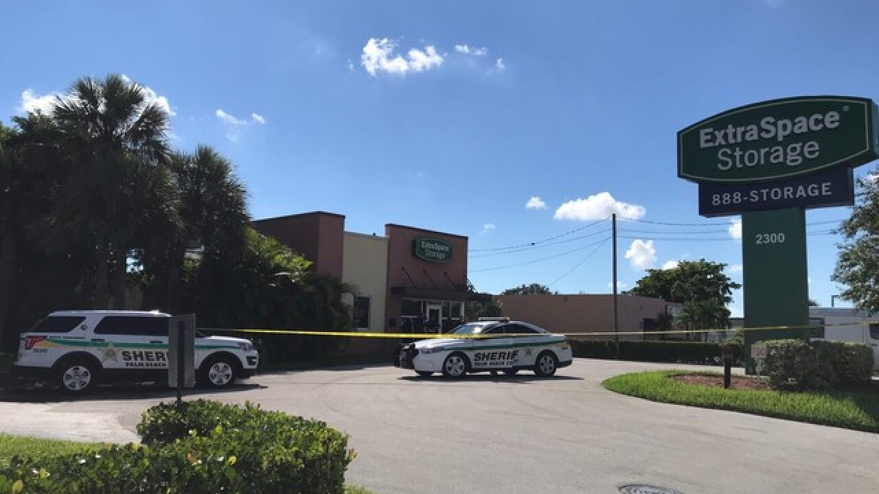 Authorities investigating possible suspicious items at ExtraSpace Storage in West Palm Beach