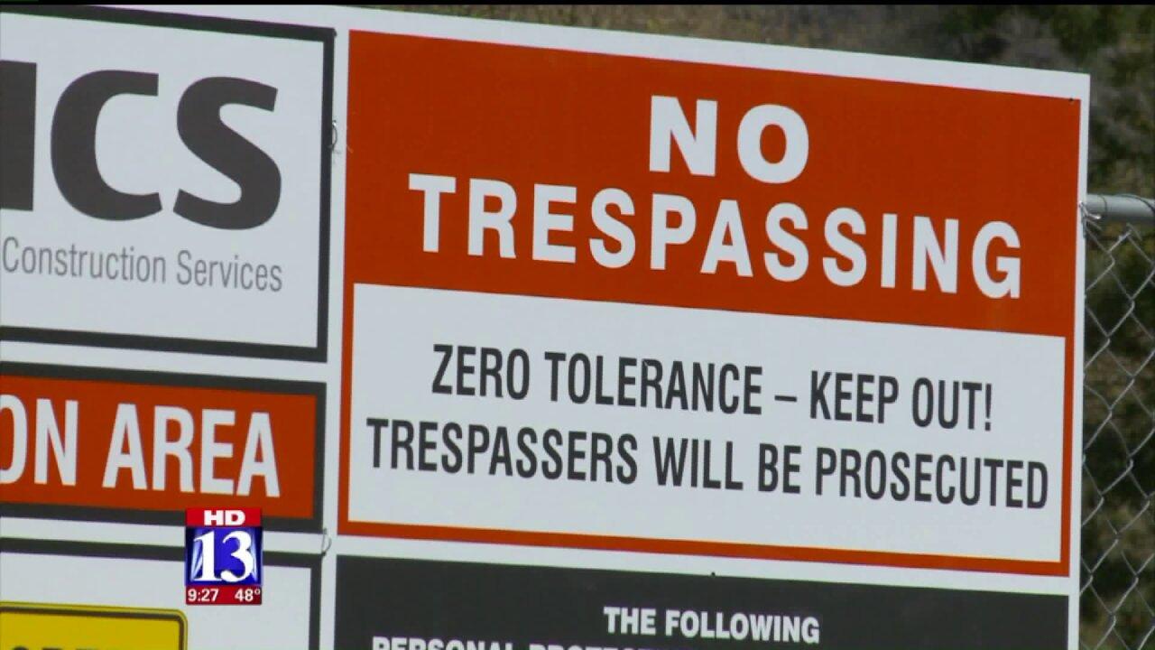 Bridal Veil Falls area to close for several weeks due to demolitionwork
