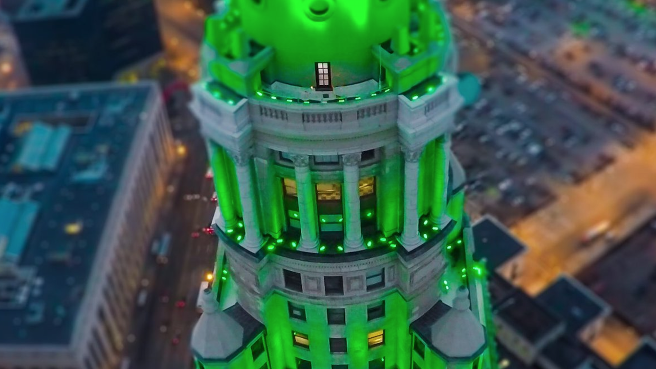 Green Terminal tower