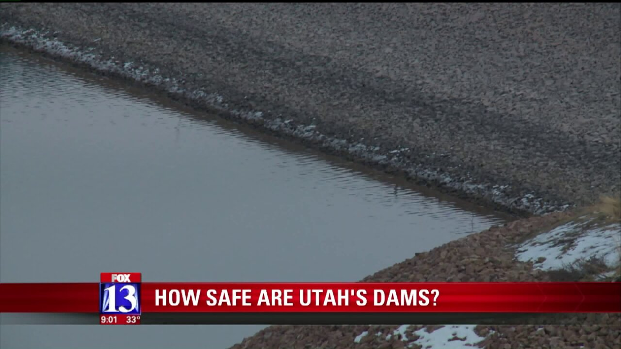 State Engineers: Utah's dams are safe