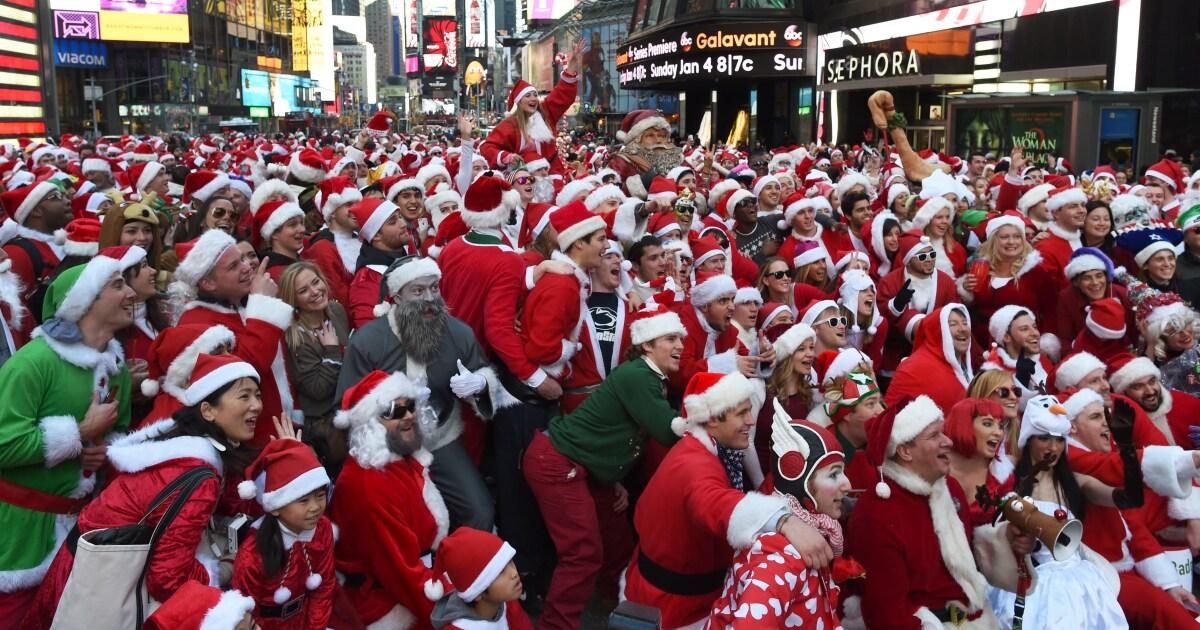 SantaCon 2019 takes over NYC