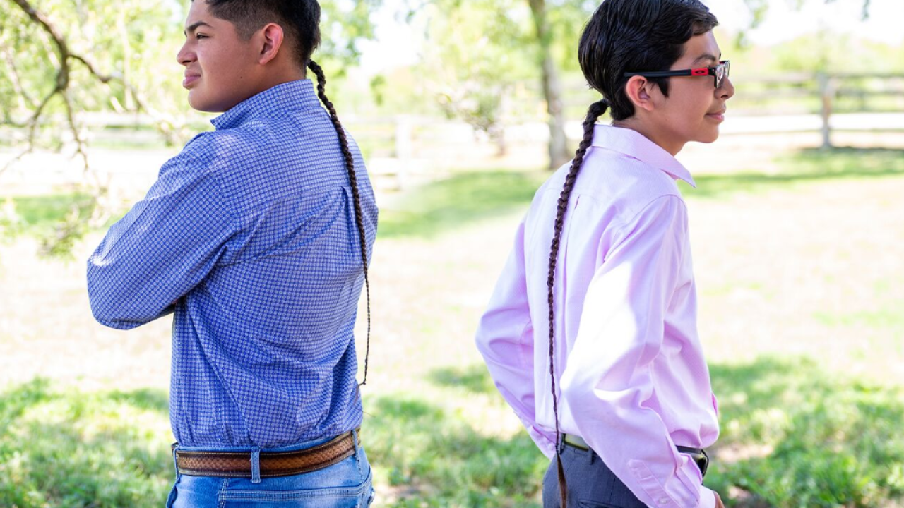 Braid worn for religious purposes violates Mathis ISD's dress code