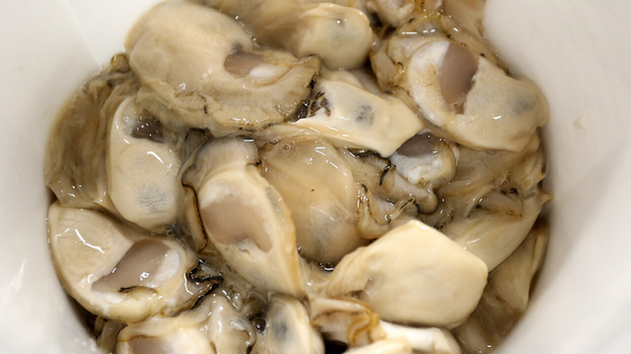 Canadian oysters sicken dozens in California, officials say
