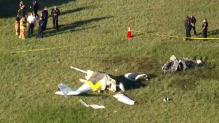 Deadly plane crash at North Perry Airport in Pembroke Pines, Fla.
