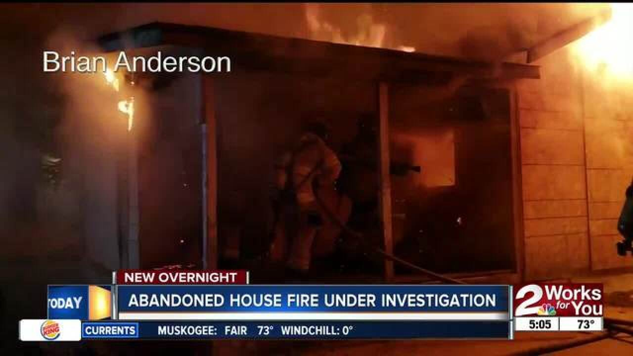 TFD looking for persons of interest after fire