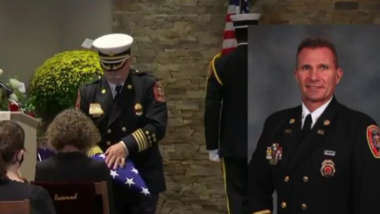 Wife shares memories, final moments with Richmond Fire Battalion Chief