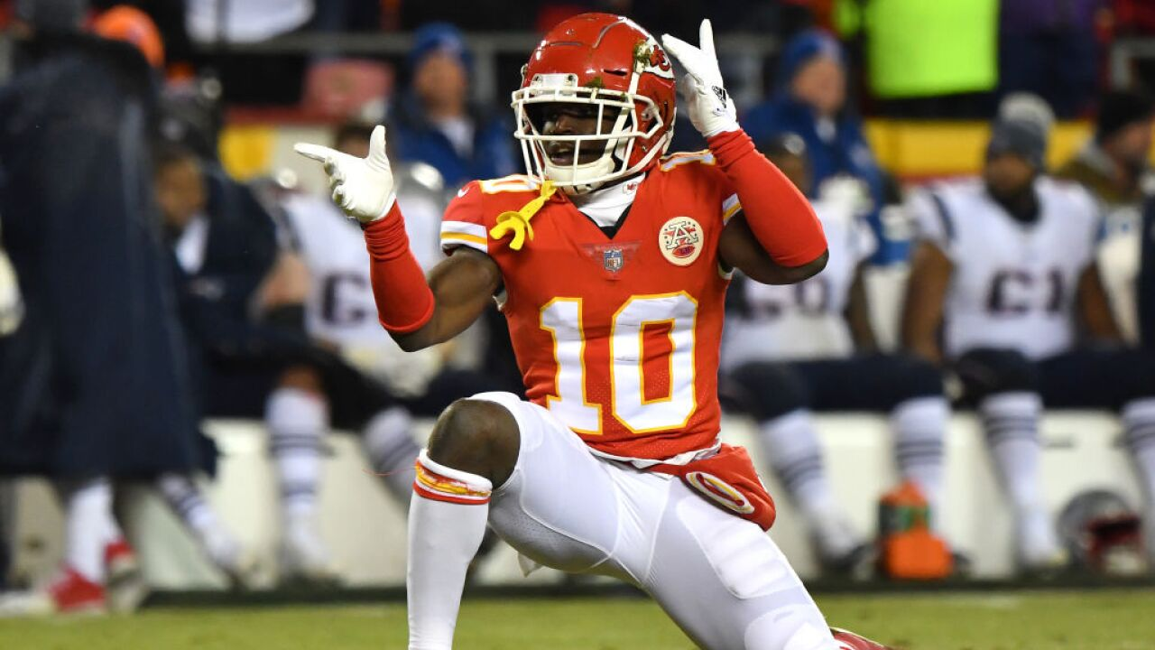 AFC Championship - New England Patriots v Kansas City Chiefs Tyreek Hill