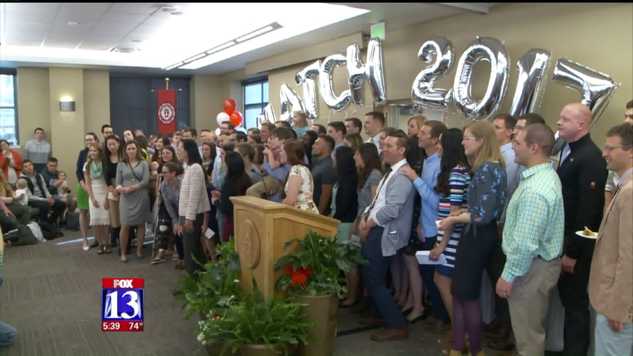 U of U medical students learn residency destinations on MatchDay