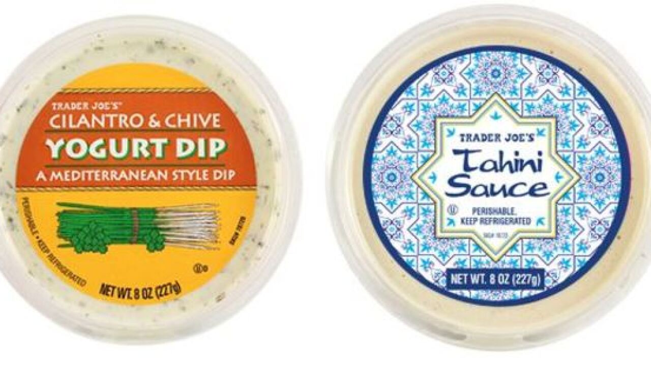 Trader Joe's recalling yogurt dip and Tahini sauce because of possible contamination