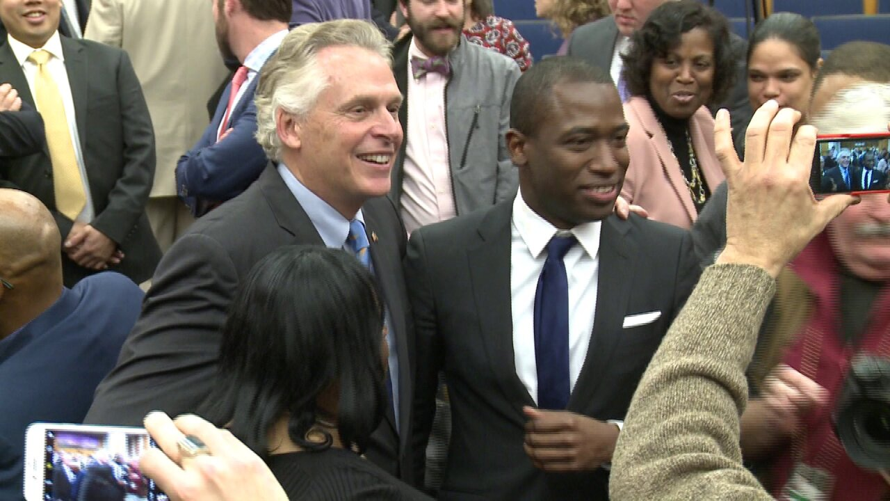 Levar Stoney sworn in as Richmond mayor