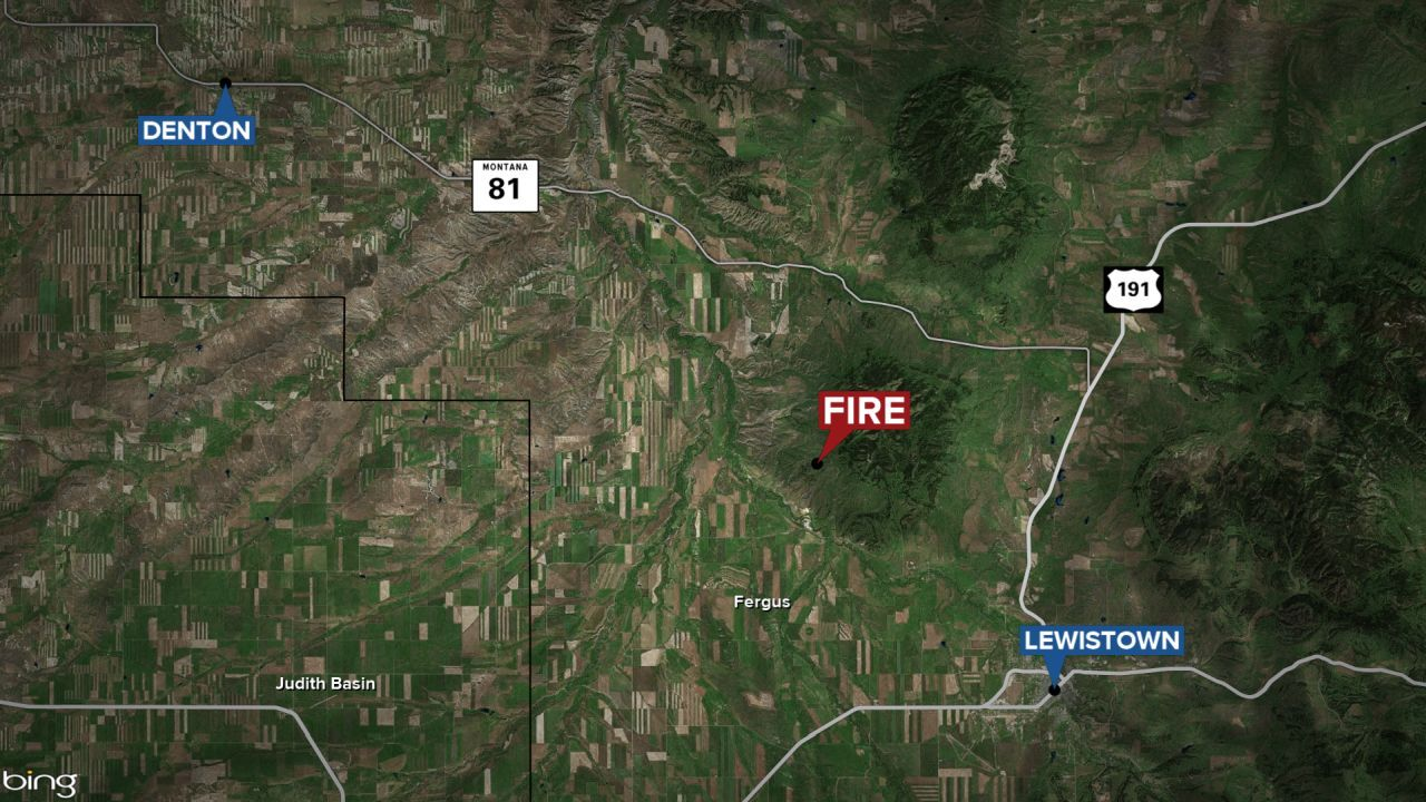 South Moccasin Fire was reported at about 12:45 a.m. on Monday, October 4, 2021