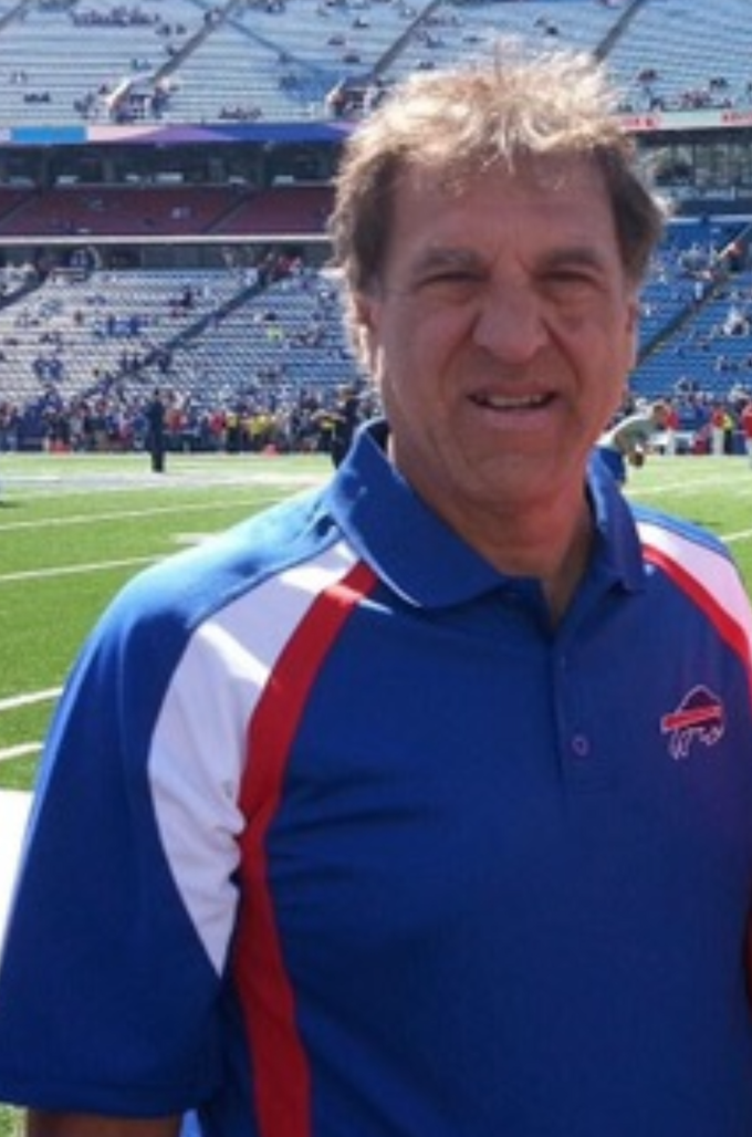 Gary Nanni has been cheering on the Bills since the 60's.