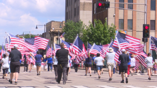 """Honoring """"Old Glory"""" at the 70th Appleton Flag Day Parade"""