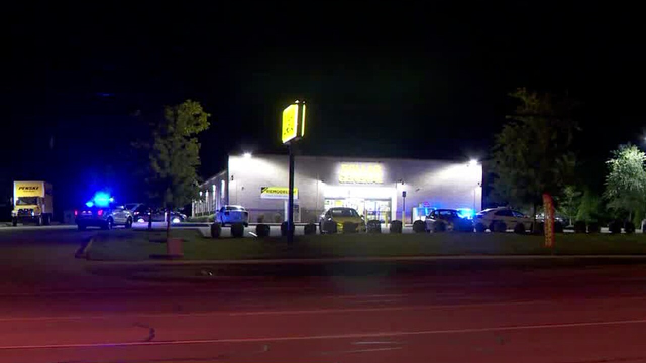Suspect Shoots Ceiling During Dollar General Robbery