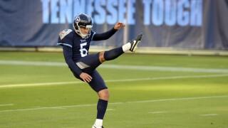 Bills Titans Football Brett Kern