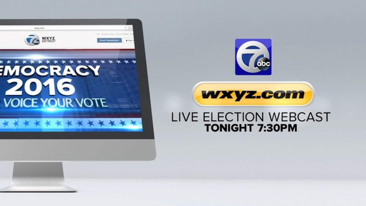 Live Webcast: Primary Election coverage Tuesday