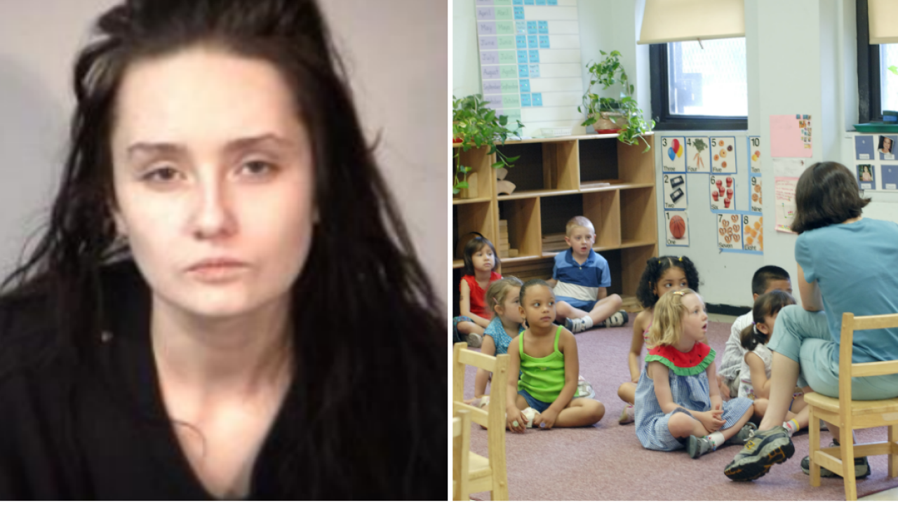 Naked woman found in day care claims she is owners wife, tries to fireemployees