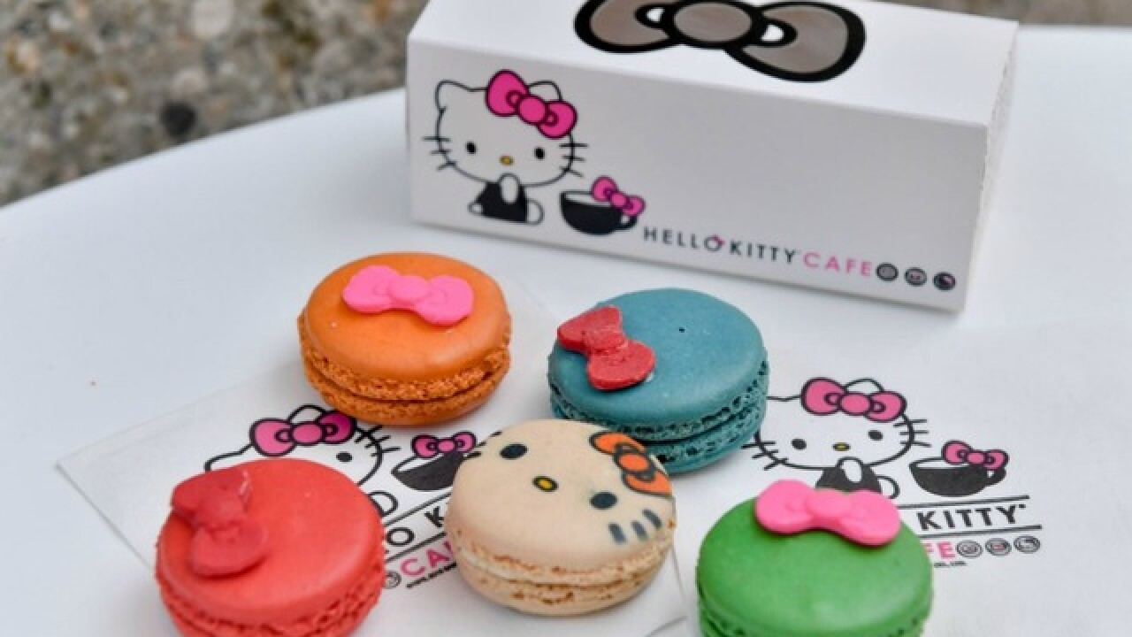 Hello Kitty Cafe to stop in Valley this weekend