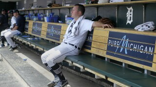 Jordan Zimmermann gives up all four runs as Phillies blank Tigers