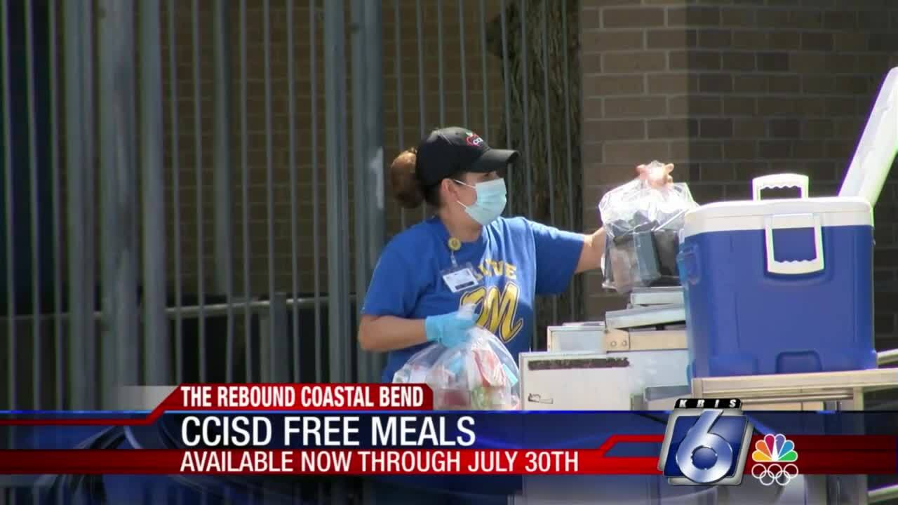 Free meals this summer at 20 CCISD schools
