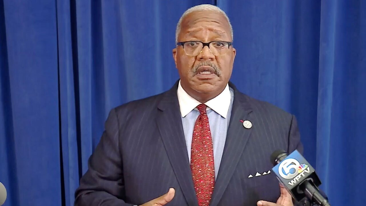 Mayor Keith James, news conference on water advisory on June 3