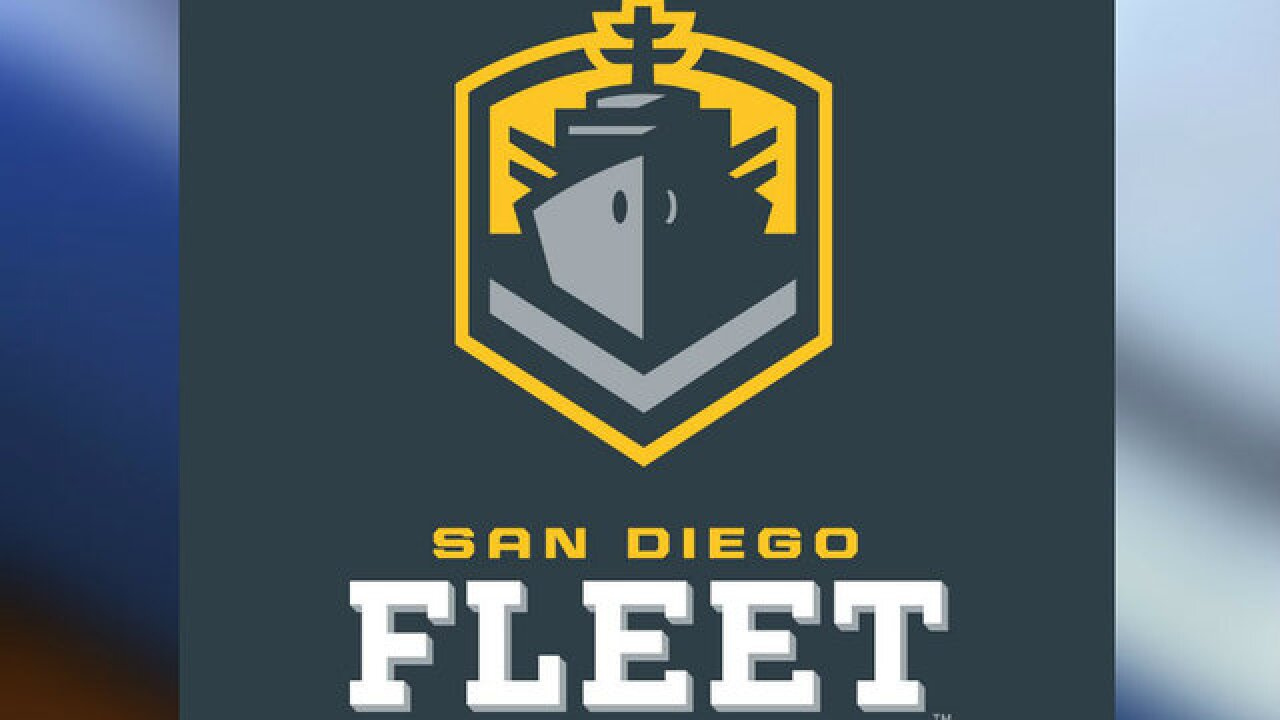 Alliance of American Football reveals San Diego team name, colors