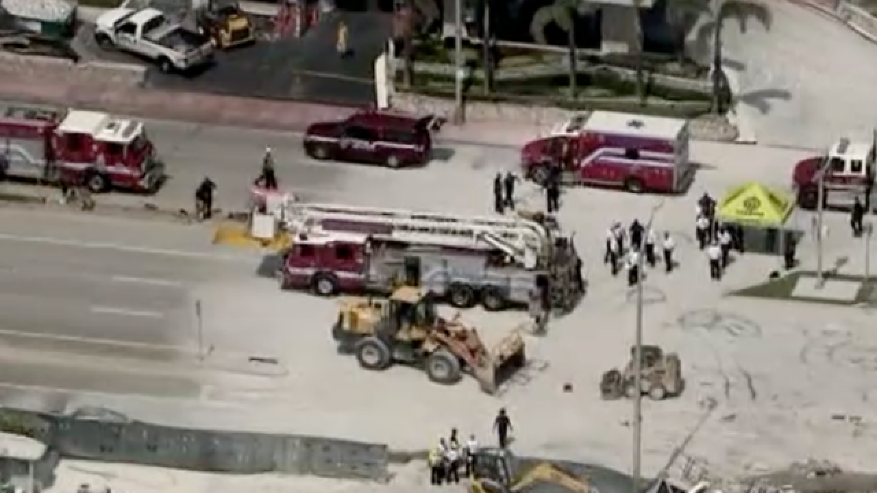 At least 1 hurt in Miami Beach building collapse