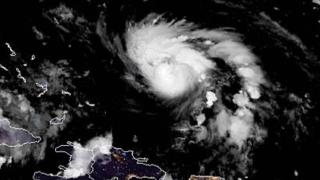 Rapidly strengthening Dorian now a category 2 hurricane, top winds at 105 MPH