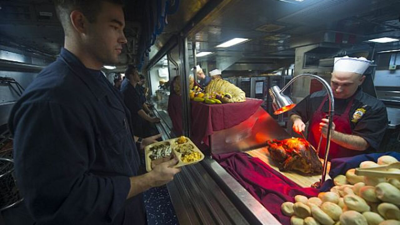Holidays in the military: How the Navy is spending Thanksgiving