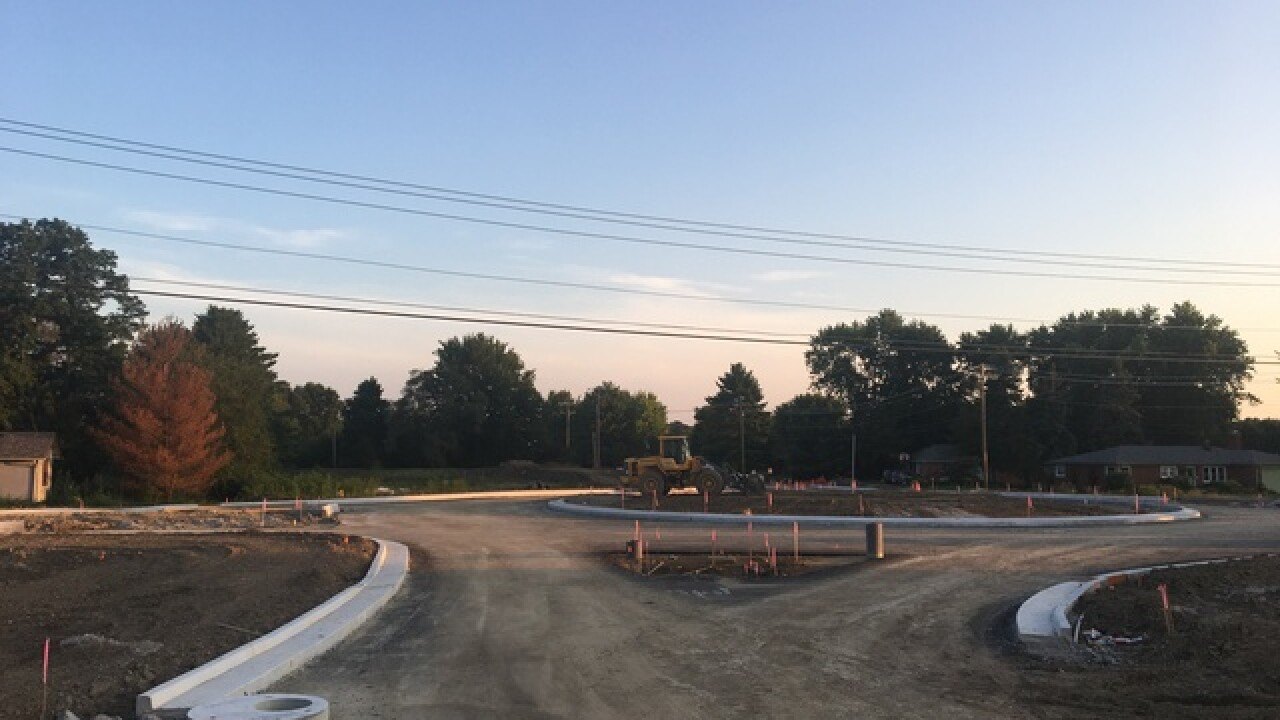 Roundabout Construction Delay
