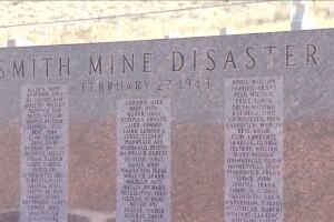 Smith mine memorial