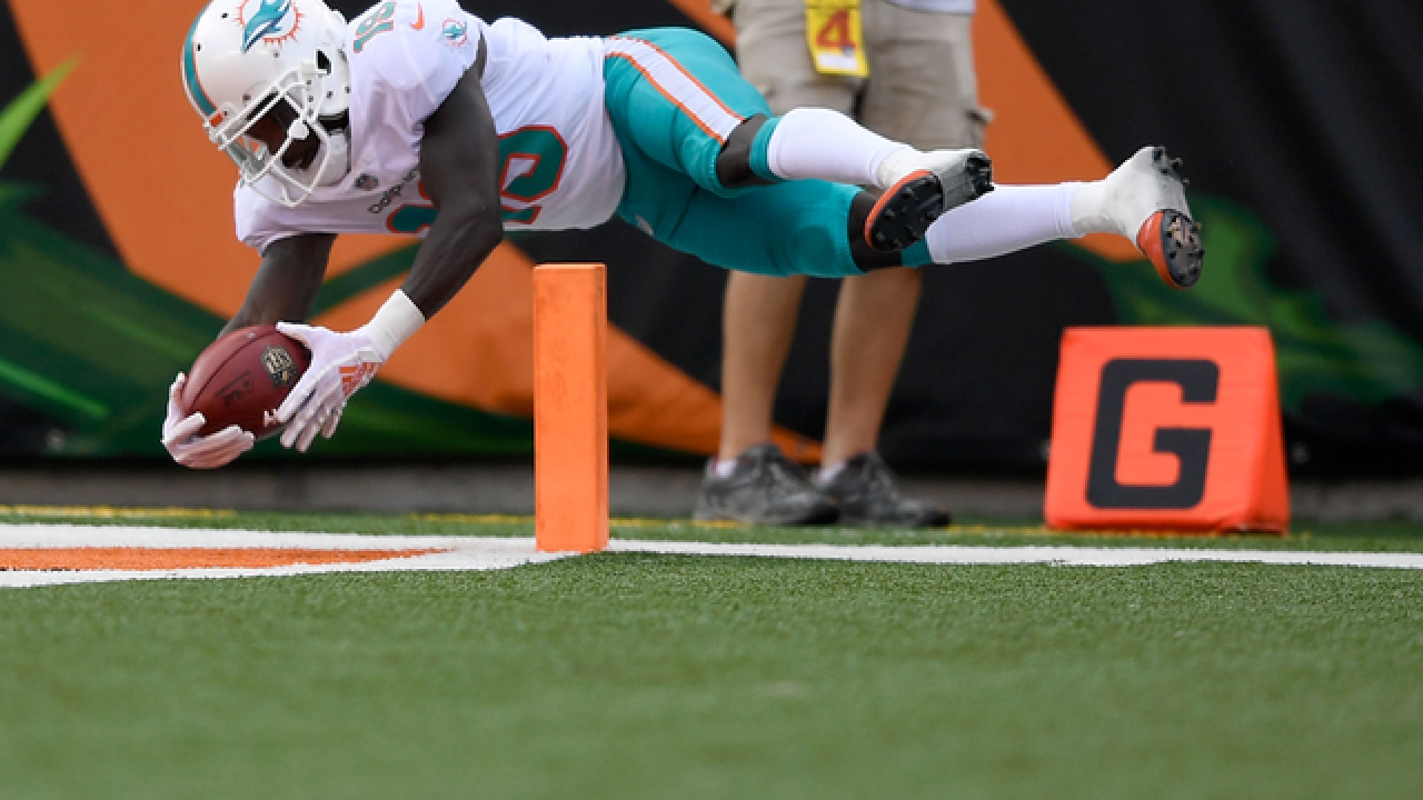 Miami Dolphins receiver Jakeem Grant to go on IR with lower leg injury