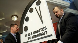 Bulletin of the Atomic Scientists to announce time on 'Doomsday Clock'