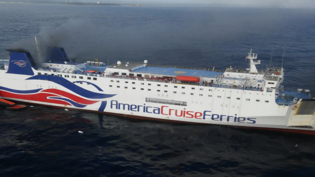 Cruise ship fire forces 500 to evacuate