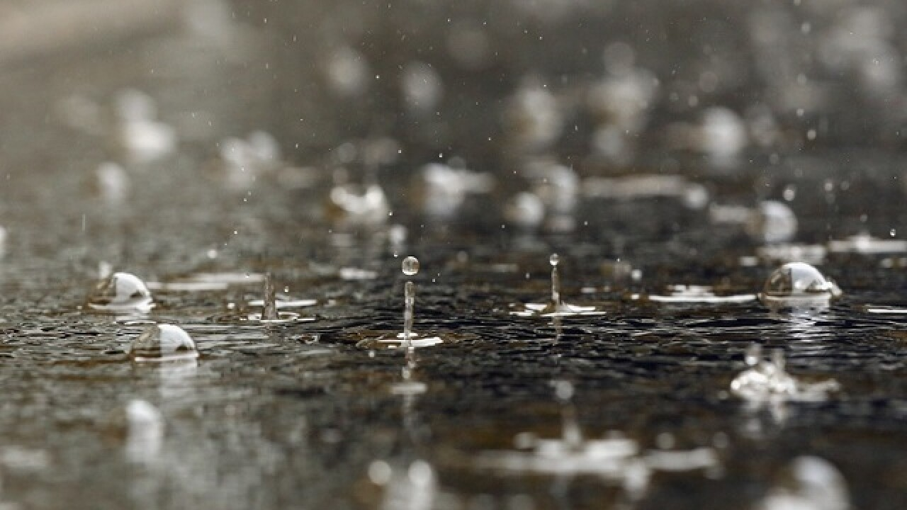 File image of rain.