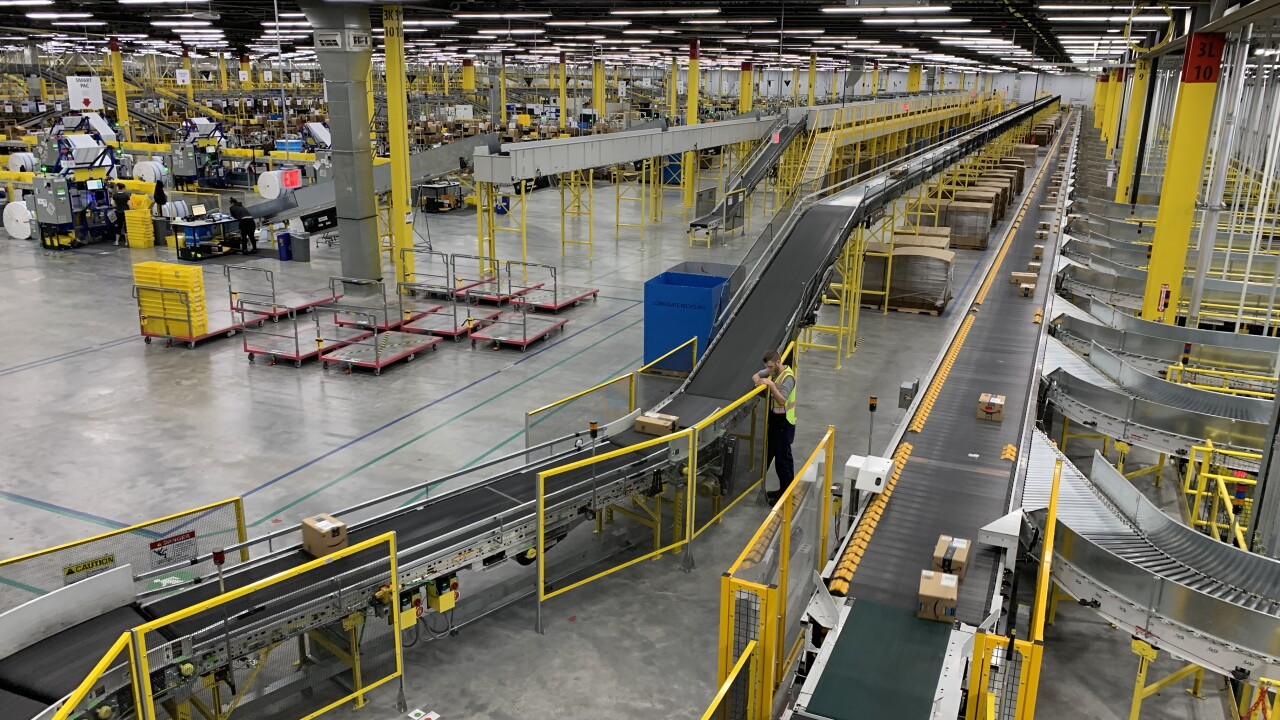 Amazon opens massive SLC fulfillment center