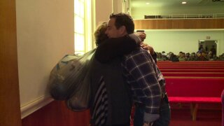 🎁Jake Burns gets 'some goodies' to surprise reverend: 'I'm about tocry'
