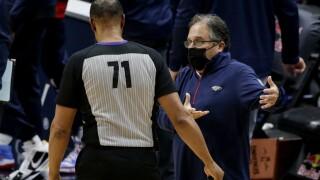 Stan Van Gundy Raptors Pelicans Basketball